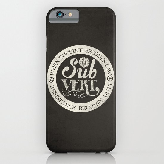 Subvert iPhone & iPod Case