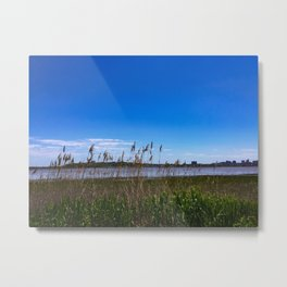 Portland, Maine Skyline from Back Bay Metal Print