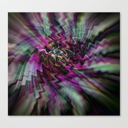 Pink Freudian Canvas Print