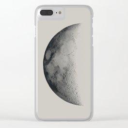 Half Lune Clear iPhone Case