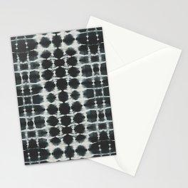 Black Shibori Stationery Cards