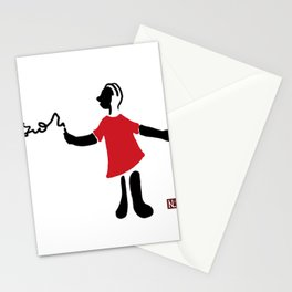 The little writter Stationery Cards
