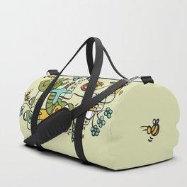 The Buzzz Doodle Monster World Duffle Bag