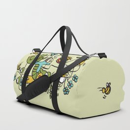 The Buzzz Doodle Monster World by Pablo Rodriguez (Pabzoide) Duffle Bag