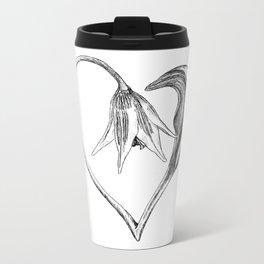 Flower of the Heart Metal Travel Mug