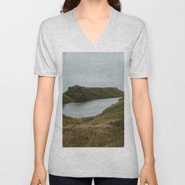 Skye Lake - Landscape Photography Unisex V-Neck
