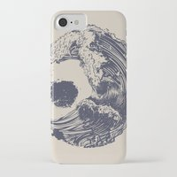 tree iPhone & iPod Cases featuring Swell by Huebucket