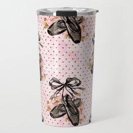 Black Swan Pattern 03 Travel Mug