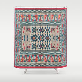 geometrci abstract Shower Curtain