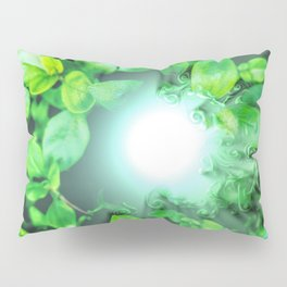Dissolving nature Pillow Sham