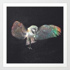 Ugla (Owl) Art Print