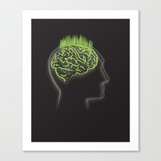 fertile mind Canvas Print