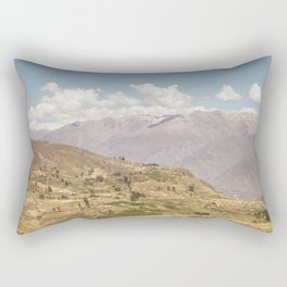 Colca canyon in Arequipa Peru Rectangular Pillow
