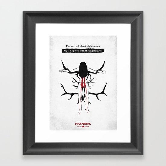 Hannibal - Potage Framed Art Print