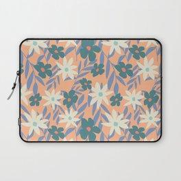 Just Peachy Floral Laptop Sleeve