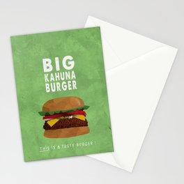 Pulp Fiction - big kahuna burger Stationery Cards
