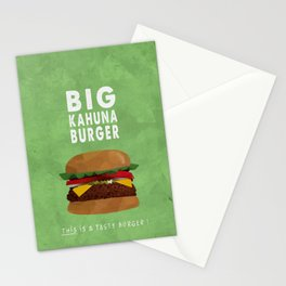 Pulp Fiction - big kahuna burger Stationery Cards