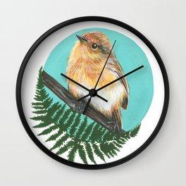 Eastern Robin Wall Clock