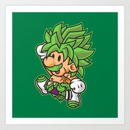 Super Jump B Art Print