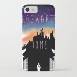 Hogwarts Sunset #2 iPhone Case