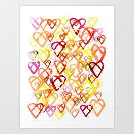 Pretzel Pattern Art Print