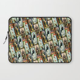 Haunted Mansion Stretch Paintings Laptop Sleeve