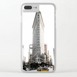 Desaturated New York Clear iPhone Case