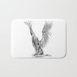 Lonely Angel Bath Mat