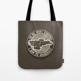 Misbehave Badge V2 Tote Bag