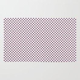 Grape Nectar Polka Dots Rug