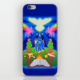"""THE PRIMATE PARADOX""  iPhone Skin"