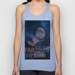 Off Center - In a Galaxy Unisex Tank Top
