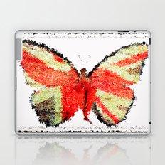 Lady Butterfly Laptop & iPad Skin