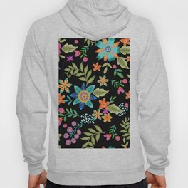 Wild and Free on black Hoody