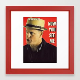 The Mentalist Framed Art Print