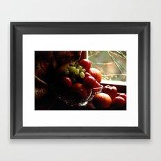 Fruit of the Moors  Framed Art Print