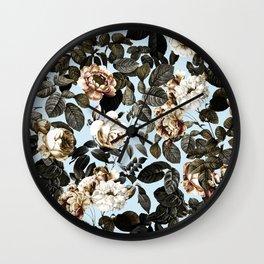 Summer Botanical Garden IV Wall Clock