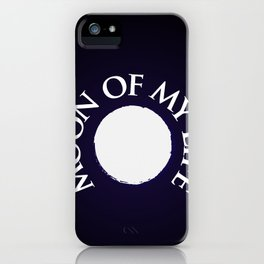 Moon of the dragons iPhone Case