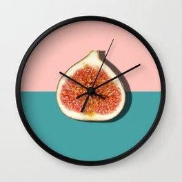 Half Slice Fruit Wall Clock