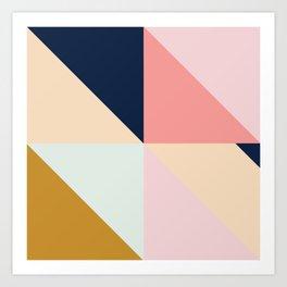 Geometric Pattern IX Art Print