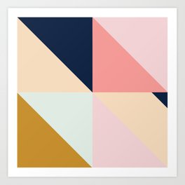 Geometric Pattern IX Art Print