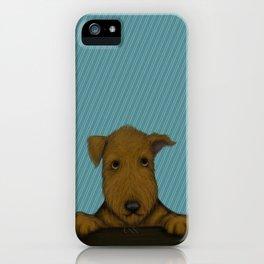 Blue Augie iPhone Case