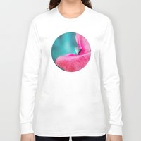 poppy Long Sleeve T-shirts featuring POPPY by INA FineArt