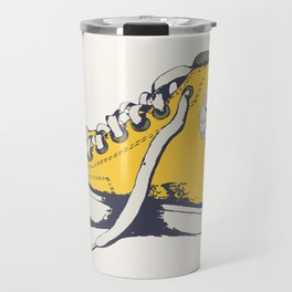Conversation Yellow Travel Mug