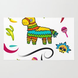 I'd Hit That Pinata for Cinco de Mayo Rug