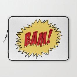 COMIC BOOK BAM Pop Art by BruceALMIGHTY Laptop Sleeve