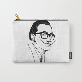 Hipster Dali Carry-All Pouch