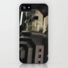 Necronaut low-polygon 3D artwork iPhone Case