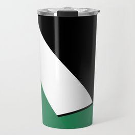 Funnel Cloud Touches The Land Travel Mug