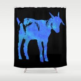 Cosmic Goat Shower Curtain